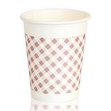 得力9570纸杯加厚隔热家用纸杯办公室纸杯50只装250ml